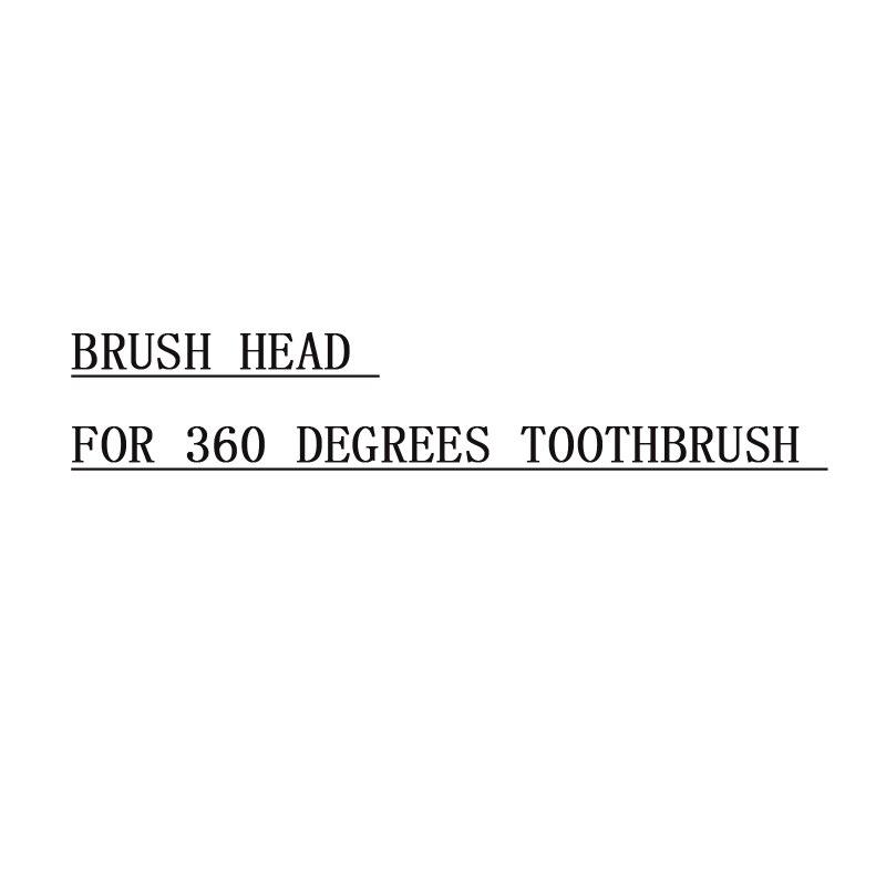 360 градусов Sonic электрические зубные щётки U Тип отбеливание зубов синий легкая зубная щетка замена головки