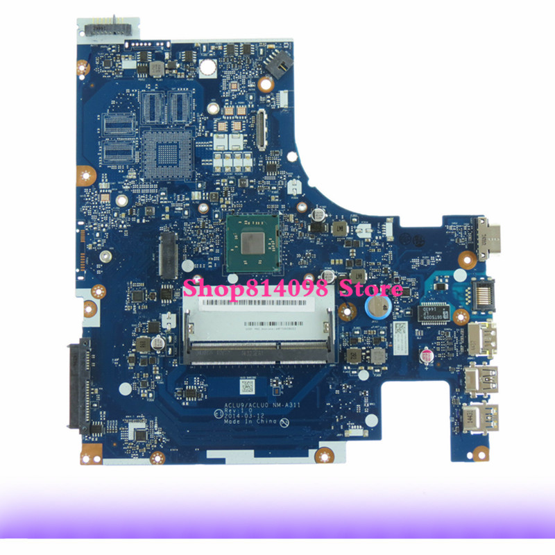KEFU ACLU9 / ACLU0 <font><b>NM</b></font>-<font><b>A311</b></font> G50-30 Motherboard for Lenovo G50 G50-30 laptop ( for intel CPU ) 100% tested image