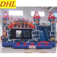 Надувной батут мультфильм замок Indoor Открытый рай Casino Непослушный форт Детский подарок игрушка L1857