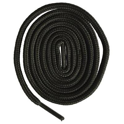 200 см очень длинные круглые шнурки Шнуры Веревки для ботинок martin спортивная обувь - Цвет: 2 black