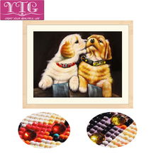 Dog,5D,Special,Shaped,Diamond Embroidery,Animal,Full,Diamond Painting,Rhinestone,Needlework,Mosaic,Cross Stitch,Decor,Gift,YTG