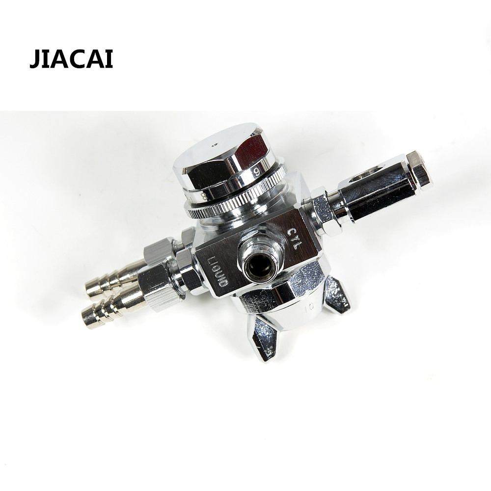 JIACAI ST-6 Automatic spray gun 0.5/1.0/1.3/2.0mm auto spray nozzle for wave soldering Casting cooling gun nozzle auto spray gun manoli st 6 st 6r automatic spray gun st6 st6rpainting gun 0 5 1 0 1 3 2 0mm nozzle free shipping fan and round pattern