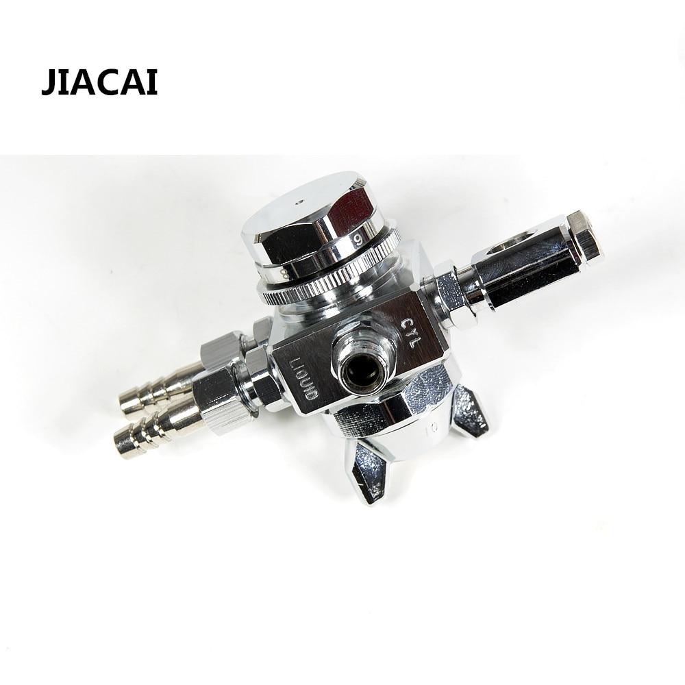 Jiacai st-6 автоматический пистолет 0.5/1.0/1.3/2.0 мм авто насадкой для пайки волной литья охлаждения пистолет сопла авто пистолет