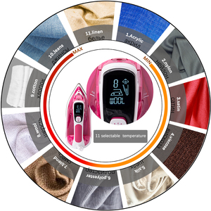 Image 3 - 2400 w ferros de vapor elétrico digital display led para roupas eletrodomésticos alta qualidade ferro engomar 220 v sonifer