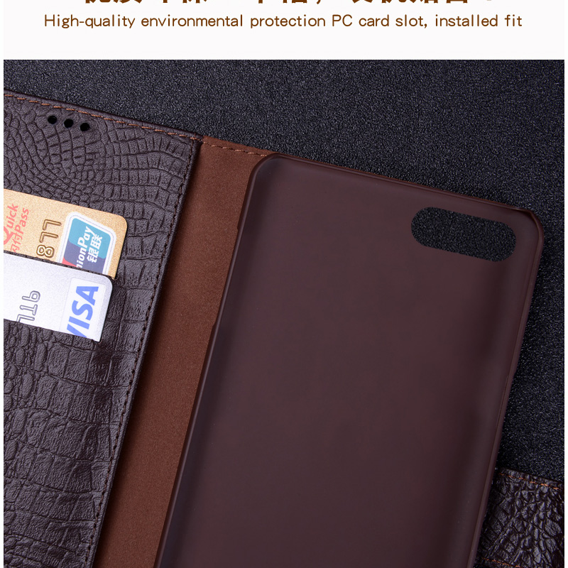 Étui à rabat en cuir externe + PC pour Xiao mi note3 coque arrière protection batterie couverture arrière étui pour Xiao mi note 3 - 3