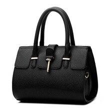 2016 New Designer Fashion Lady font b Handbags b font Ladies Bags Luxury PU Leather Hobo