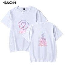41c1c268 KELUOXIN Summer Kpop GOT7 T Shirt Women Men Fashion Team Member Name Printed  Tshirt Casual Short Sleeve O-neck Cotton T-shirt