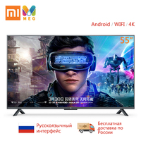 Television Xiaomi TV Andriod Smart TV 4S 55 inches FHD Full 4K HDR Screen TV Set WIFI Ultra thin 2GB+8GB Dolby DVB T2