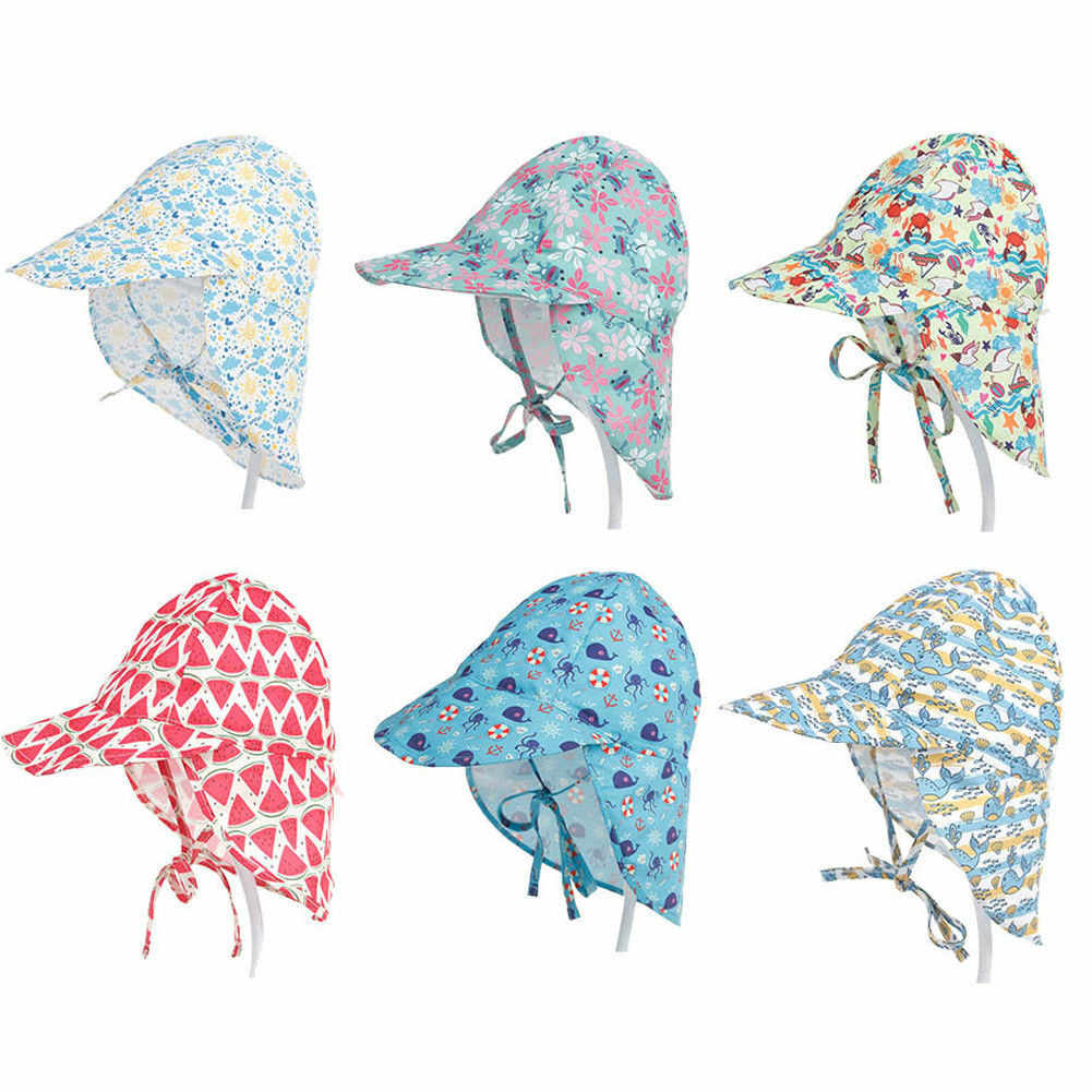 6ba5845a4fd15 Detail Feedback Questions about 2018 Latest Children s Wear Summer Newborn  Baby Boy Girl Sun Cap Cotton Bucket Hat UV Protection Beach Hat Floral  Bucket 6M ...