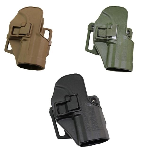CQC Gun Holster tactical Hunting Airsoft Belt Pistol Holster for HK USP Compact Black/Green/Tan 1