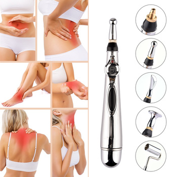 Energy Heal Massage Body Head Massage Electronic Acupuncture Pen Pain Relief Therapy Pen Safe Meridian adores Health Care
