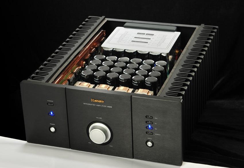 I-032 A600 Amplificateur Intégré/Pur puissance AMP RCA * 3, XLR * 1 160 w (8ohm) /320 w (4ohm) Soutien Télécommande