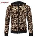 GustOmerD Fashion Spring New Hoodies Mens Leopard Print Sweatshirt Brand Clothes Slim Fit Hoody Mens Hoodies And Sweatshirts