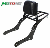 Motorcycle Luggage Rack Rear Passenger Seat Backrest For Kawasaki VN650 Vulcan S 650 S650 2015 2016 2017