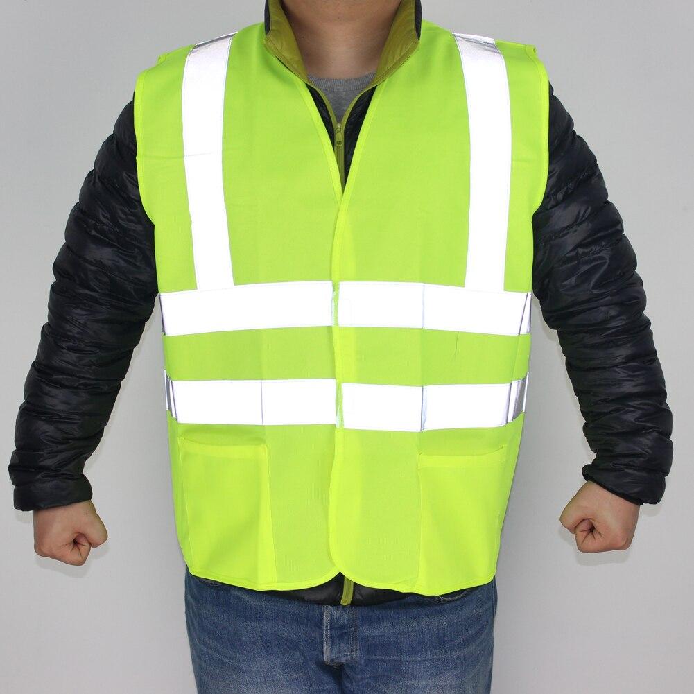 Encell Indumenti Di Sicurezza Riflettente Ad Alta Visibilità per Lavorare All'aperto Spia Camicia Car Styling Maglia Esterna FGYLA001