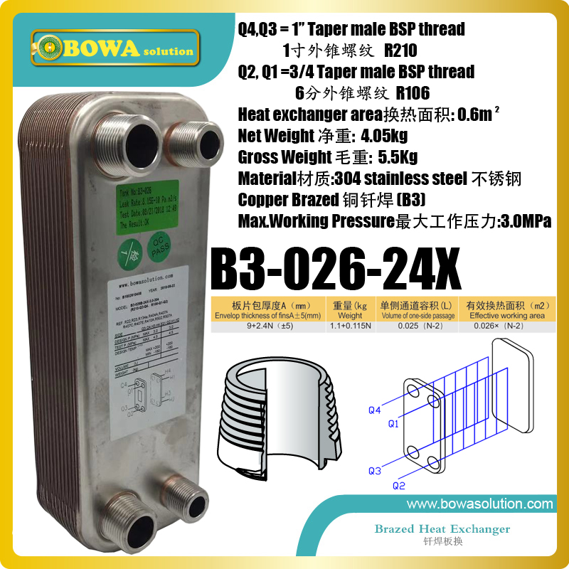 50KW or 26KW heat transfer between water to water PHE is great  for boat engine cooling and boiler water heater hydronic systems50KW or 26KW heat transfer between water to water PHE is great  for boat engine cooling and boiler water heater hydronic systems