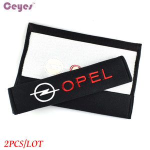 Image 3 - Seat Belt Cover Auto Styling Puur Katoen Geval Voor Opel Astra H G J Insignia Mokka Zafira Corsa Vectra C D Accessoires Auto Styling