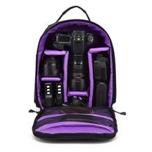 Открытый обновления Водонепроницаемый фотографии Камера сумка рюкзак Отдых Путешествия цифровой Камера видео сумка для Nikon Canon DSLR Sony