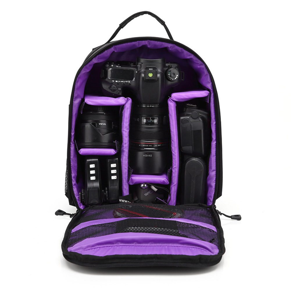 Outdoor Upgrade Waterproof Photography Camera Bag for Nikon Canon Sony DSLR Travel Digital Camera Backpacks Camping Video Bag