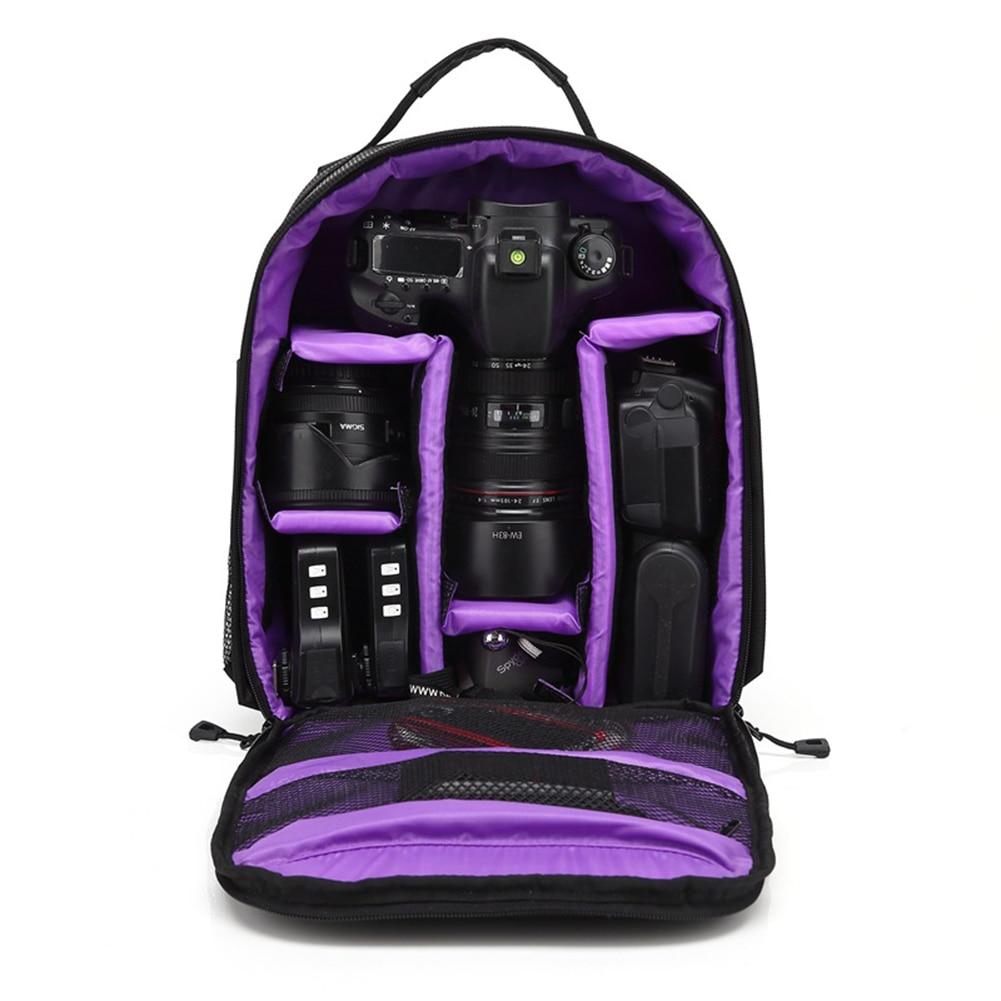 Outdoor Upgrade Waterproof Photography Camera Bag Backpack Camping Travel Digital Camera Video Bag for Nikon Canon DSLR Sony