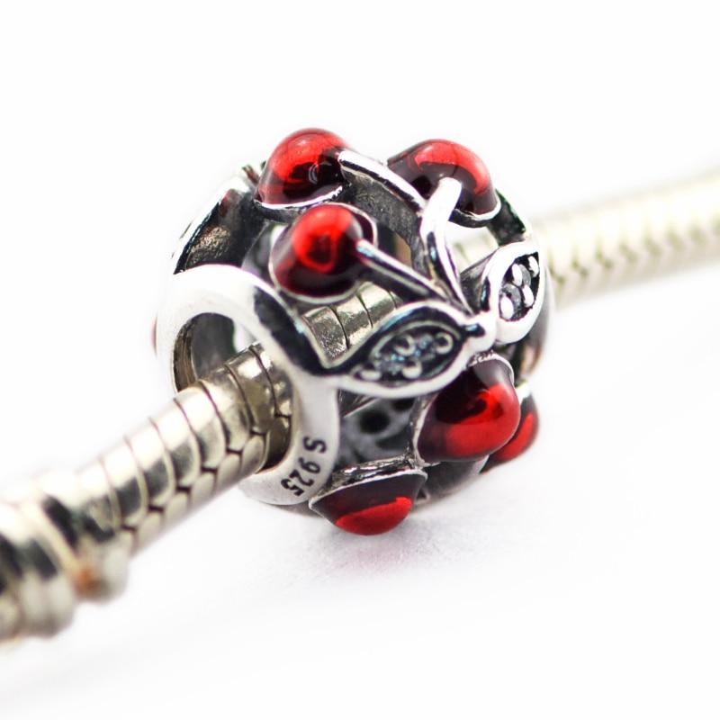 Cocok untuk Pandora Charms Gelang Otentik 100% 925 - Perhiasan bagus