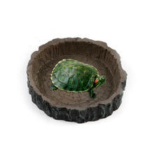 Goods For Reptile Water Bowl Food Dish Feeder Tortoise Live Ants Ant Farm Pet Turtle Snake Reptiles And Lizards Feeding Supplies