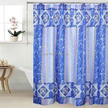 Happy Tree WIDEN Polyester Crack Waterproof Thicken Shower Curtains Terylene Bathroom Curtain Long Fabric Bath Curtain 240cm