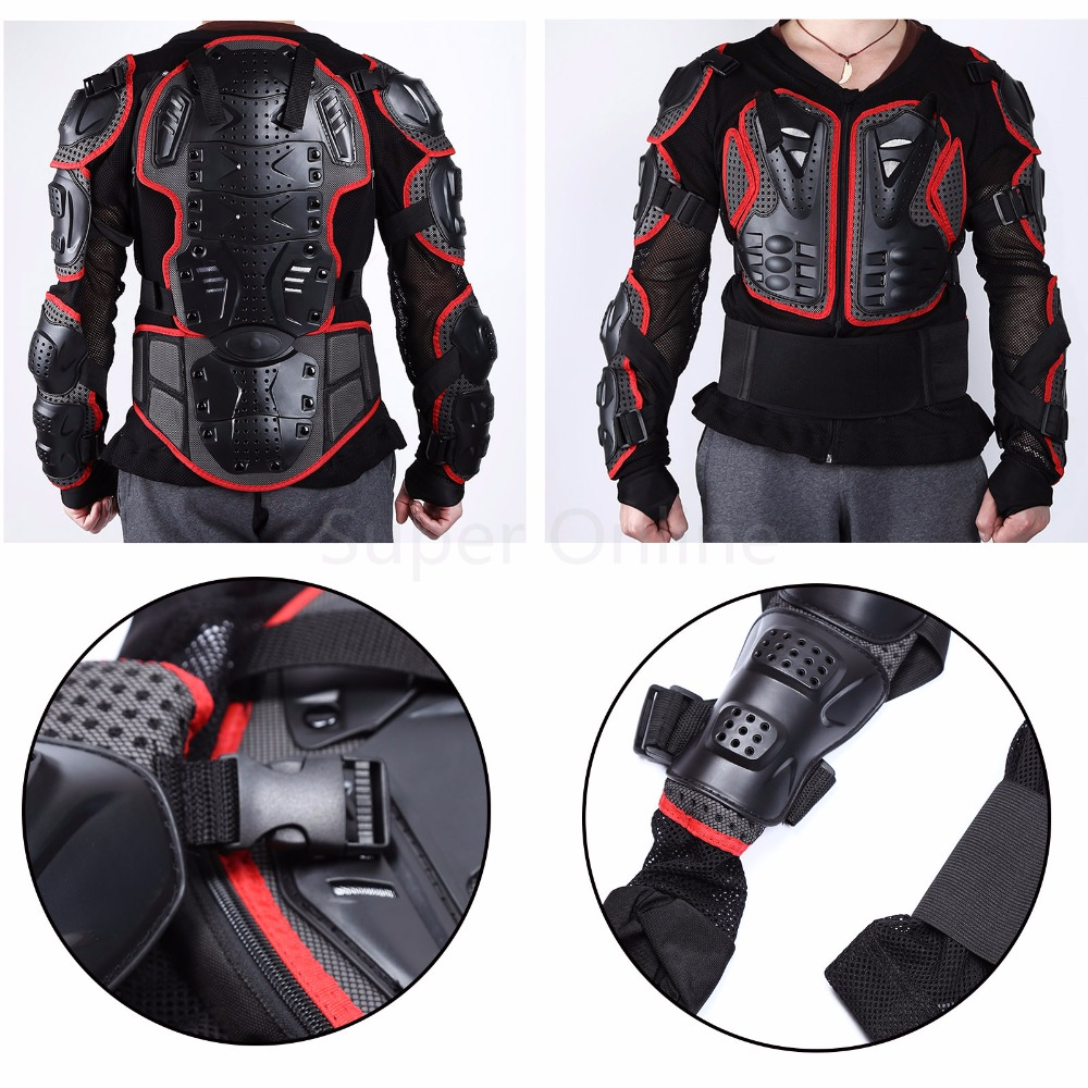 ФОТО Professional Motorcycle Racing Protection Motocross Body Armor Back Protective Gear