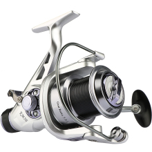 Goture Spinning Fishing Reel Double Brake Carp Fishing Feeder Fishing Wheel 11 BB Metal Spool Handle Carp Bait
