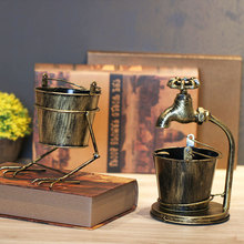 Retro Ashtray Creative Industry Wind Bar Home Living Room Office Personality Trend Multifunctional Decoration