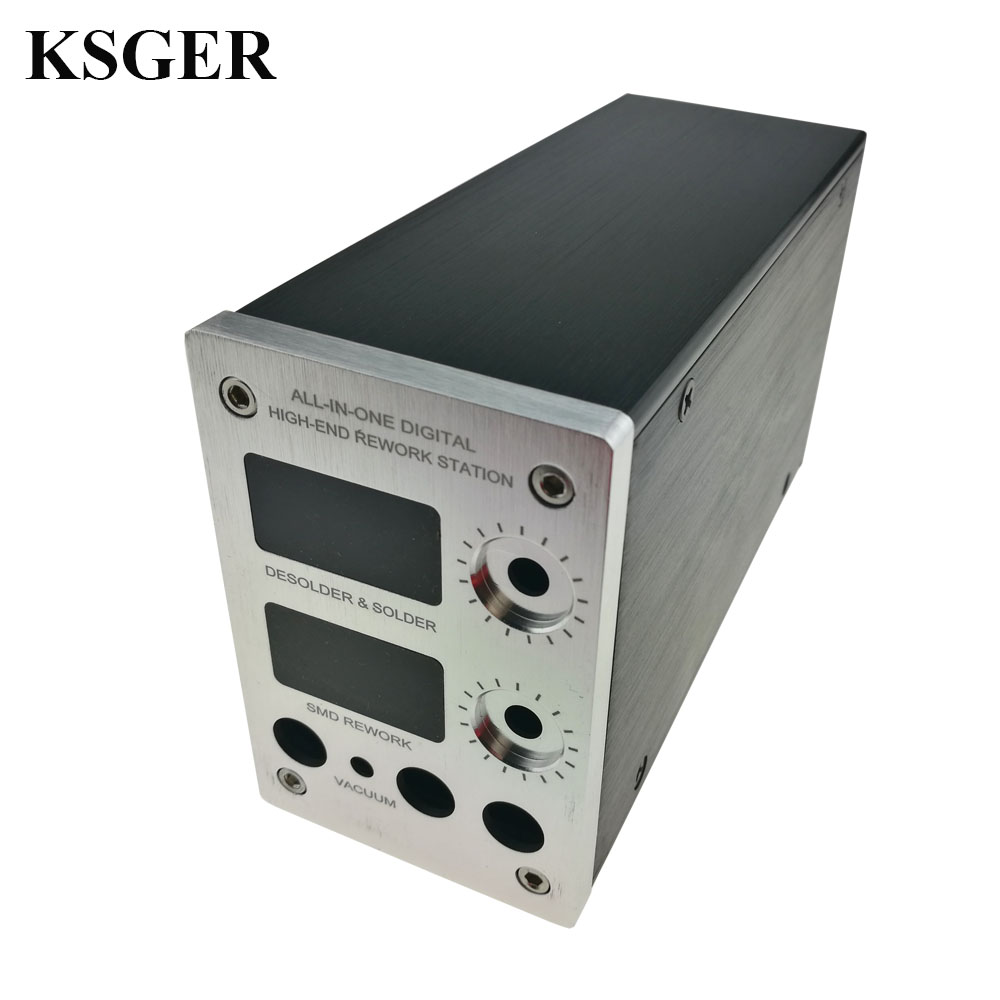 KSGER T12 Soldering Station Welding Case STM32 OLED Controller Solder Iron Tips 2 in 1 Hot