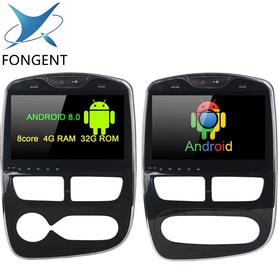 Pour Renault Clio 2013 2014 2015 2016 2017 2018 Autoradio Fonctionnelles de Multimeida de Lecteur GPS Glonass Carte Audio Stéréo wifi Bluetooth 4.0 DAB +