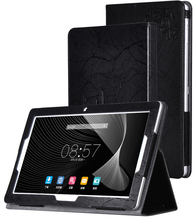 Para Cube iplay10 iplay 10 10.6 pulgadas Tablet Cases Estampado floral PU Cubierta de Cuero + Stylus