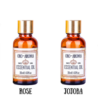 Famous brand oroaroma To freckle acne sets rose Oil + jojoba Oil Repair wrinkles and scars Oil 30ml*2