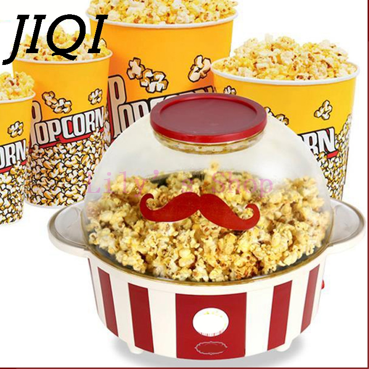 Household mini Electric popcorn making machine Big large capacity popcorn maker popper machine sugar oil for gift EU US plug pop 08 commercial electric popcorn machine popcorn maker for coffee shop popcorn making machine