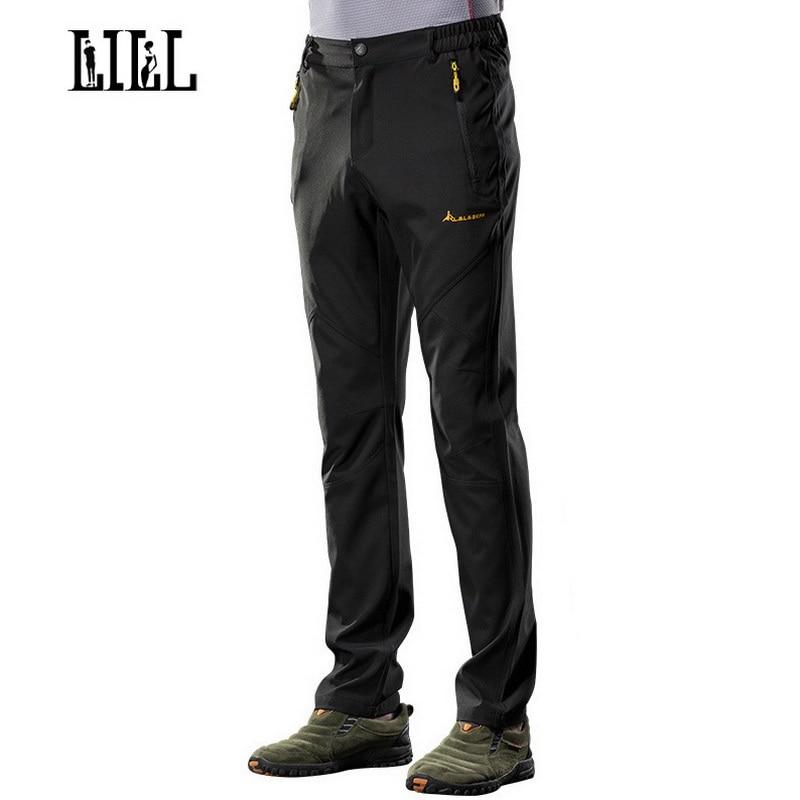 거짓말 | 스트레치 빠른 드라이 방수 바지 봄 남자 통기성 여행 바지 남자 캐주얼 바지 Man Joggers Sportwear, UA301