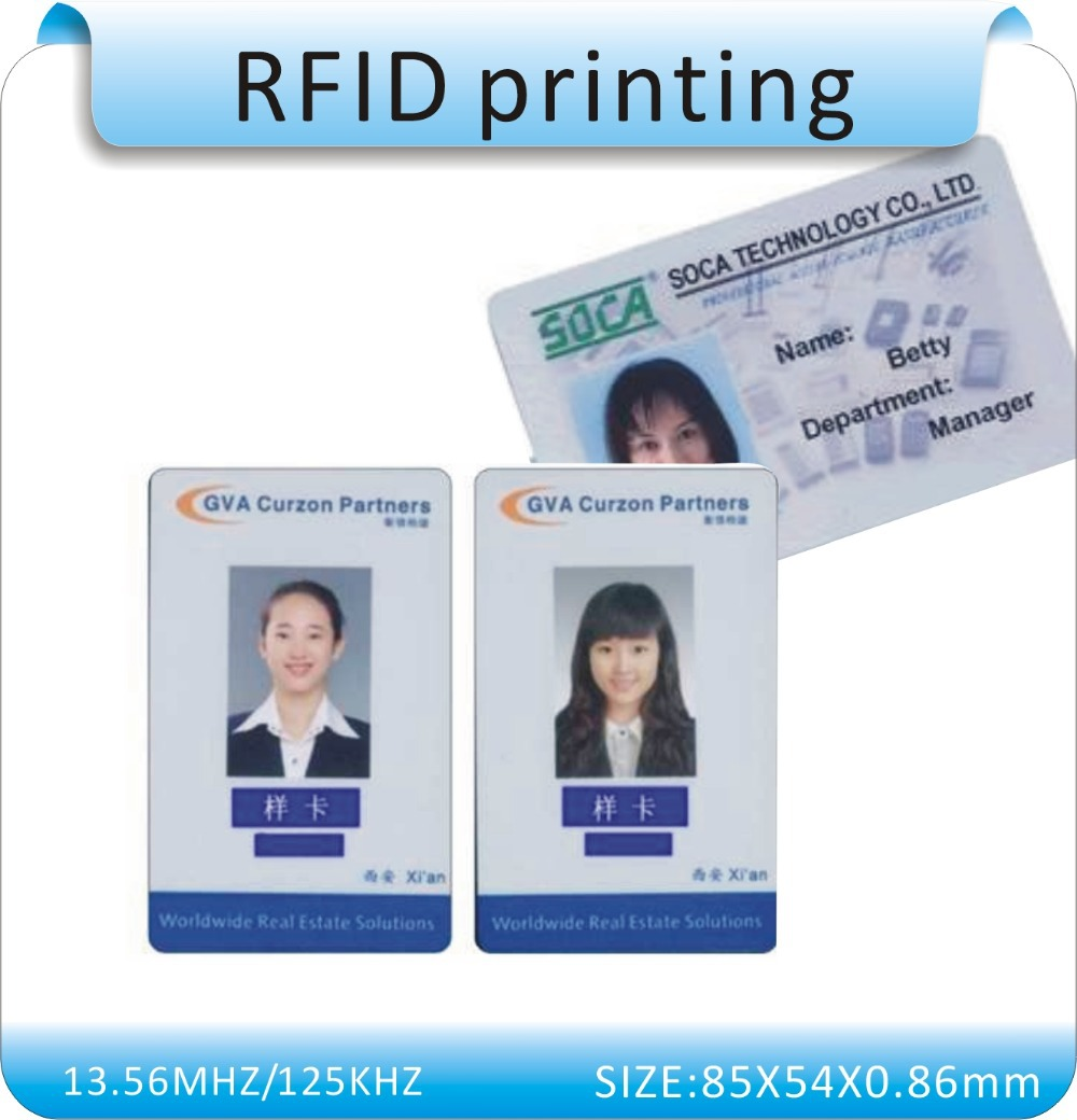 Aliexpress.com : Buy 100pcs Six colors Offset printing RFID card ...