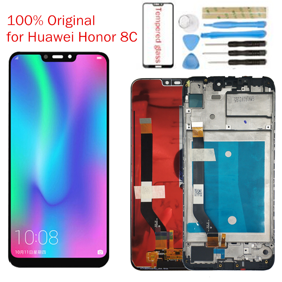 UVR For Huawei Honor Screen Digitizer Assembly 8C BKK-AL10 LCD Display 10 Touch