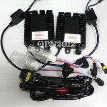 Super Bright Globe Car Headlight HID Conversion XENON KIT 12V 100W H3 6000K Single Beam XENON KIT Replacement Bulbs