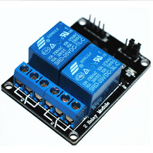 New  2 Channel Relay Module Relay Expansion Board For Arduino 5V Low Level Triggered 2-Way Relay Module T0744 P10