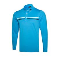 New golf clothing men long-sleeve Golf sport clothes POLO S-XXL 3 colors golf T-shirt Free shipping GC7107
