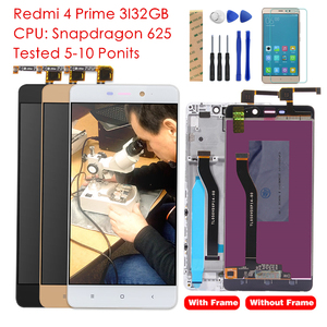 Image 1 - Tested Grade for Xiaomi Redmi 4 Pro Prime LCD Display Digitizer Touch Screen Assembly Frame TouchScreen Panel Replacement Parts