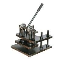 Двухколесный т 1 т давление ручной работы Рабочего Стола Ручной клупп резки кожи вдавливание пресс формы штамповки пресс машина для резки