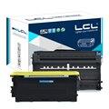 LCL TN2075 TN 2075 DR2075 DR 2075 (2-pack) cartucho de Toner Preto Compatível para O Irmão 2040/2050/2037/2030/7025/7225N/2080/2460