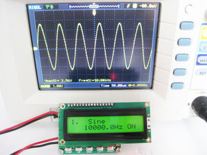 Image 2 - New 1PC New DDS signal generator stronger than m328 Function generator 0.1hz~100khz frequency meter