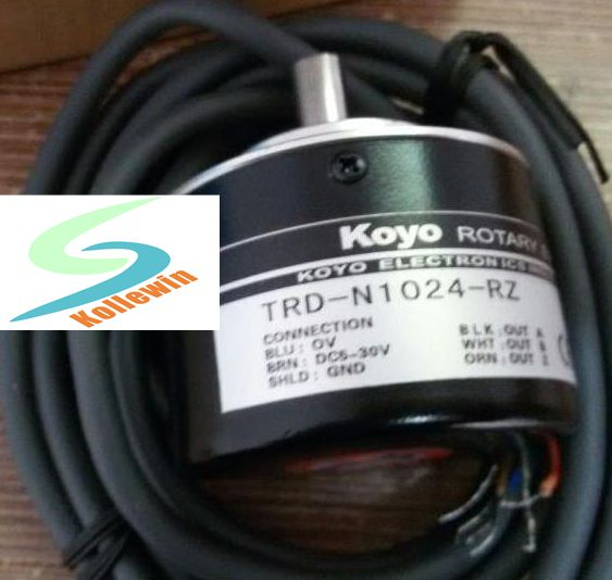 TRD-N1024-RZ Encoder / solid shaft rotation speed photoelectric encoder new in box, free shipping. trd n50 rz 1m
