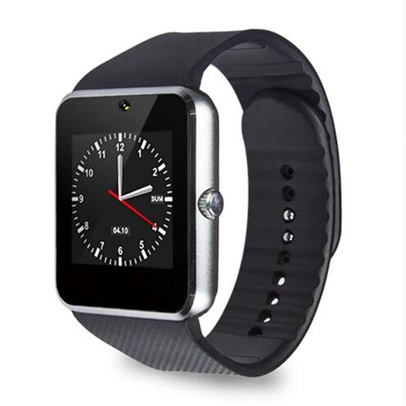Nuevo gt 08 tarjeta sim bluetooth reloj smartwatch para i0s y android teléfono i