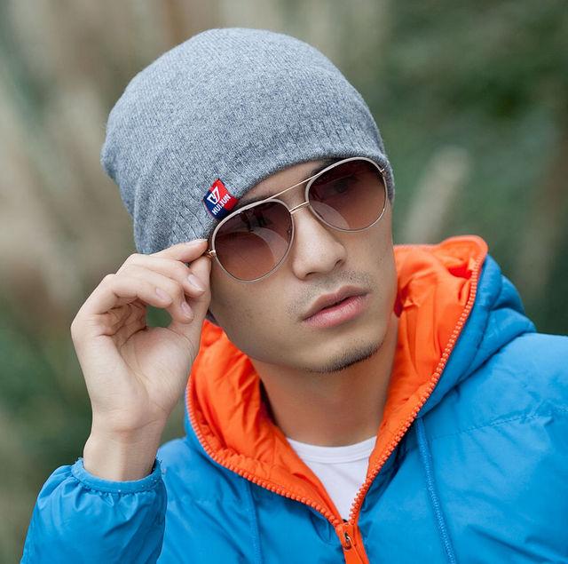 Hat tidal current male cap autumn and winter casual cap turban hip-hop hiphop toe cap covering cap
