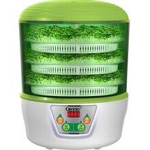 Электрический мультибобовый Росток машина 3 слоя йогурт рисовое вино машина термостат зеленые семена ростки бобов мунг горшок