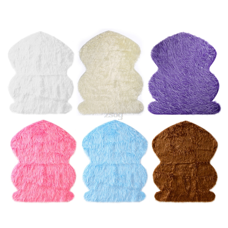 Newborn Photography Props Faux Fur Stuffe Background Baby Photo Soft Blanket MAY26 dropshipping